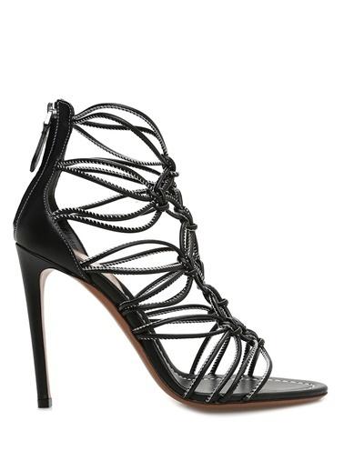 Alaia Sandalet Siyah